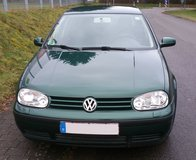 2001 VW Golf IV manual transmission, NEW INSPECTION in Ramstein, Germany