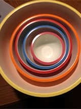 set of 5 slip proof mixing bowls in Morris, Illinois