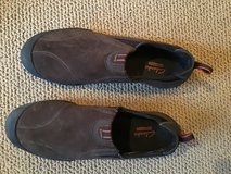 CLARKS MENS OUTDOOR BROWN SUEDE OUTLAY PATH WATERPROOF SLIP ON SHOES SIZE 11.5M—NEVER WORN in Alamogordo, New Mexico