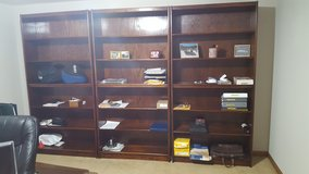 3 Wood shelving units in Batavia, Illinois