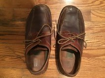 CLARKS MENS BROWN LEATHER CASUAL WALKING OXFORDS SIZE 11.5M in Alamogordo, New Mexico
