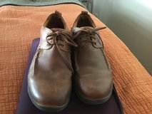 TIMBERLAND BROWN LEATHER 3-EYELET SHOES SIZE 11/11.5M in Alamogordo, New Mexico