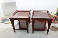 Set of End Tables in Okinawa, Japan