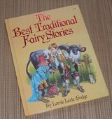 RARE Vintage 1983 The Best Traditional Fairy Stories Over Sized Hard Cover Book in Morris, Illinois