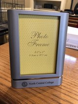 "New North Central College Silver Picture Frame - Holds 3.5"" x 5"" Photo - New in Box in Bolingbrook, Illinois"