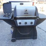 Propane Gas Grill with Side Burner in Baytown, Texas