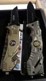 Army Rescue Pocket Knives NIB in 29 Palms, California