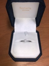 Beautiful Diamond engagement ring with platinum band! in Okinawa, Japan