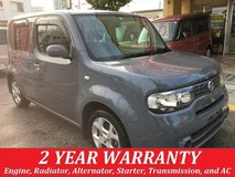2 YEAR WARRANTY AND NEW JCI!! 2009 NISSAN CUBE!! FREE LOANER CARS AVAILABLE NOW!! in Okinawa, Japan
