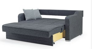 United Furniture - Sofabed - Max Prime in dark and light grey including delivery in Grafenwoehr, GE