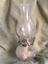 Antique Cut Glass Oil Lamp in Westmont, Illinois