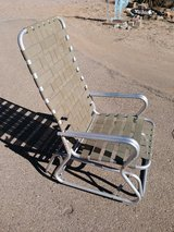 Glider chair in Alamogordo, New Mexico