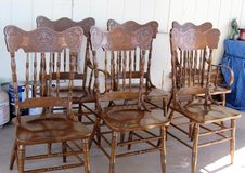 6 Dining Room Chairs NO Table in Alamogordo, New Mexico