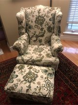 wing back chair & ottoman in St. Louis, Missouri