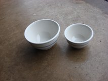 TWO NEW GIBSON CERAMIC BOWLS in Bartlett, Illinois