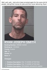 Beware and thank God he got arrested again Ryan Joseph Smith in Camp Lejeune, North Carolina
