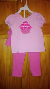Pink Cupcake 2pc Outfit - 24M in Beaufort, South Carolina