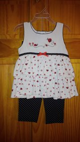 Ladybug 2pc Outfit - Size 24M in Beaufort, South Carolina