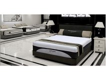 King sized Memory Foam bed set in Tomball, Texas