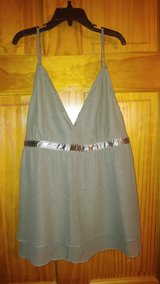 NWT Express Greenish/Brown Top - Size L in Beaufort, South Carolina