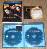 Twilight New Moon Blu-ray EXCLUSIVE Collectable Film Cell Deluxe 2-Disc Edition in Joliet, Illinois