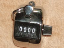 Hand held Clicker counter in Yorkville, Illinois