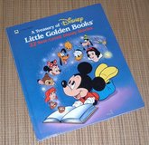 Vintage 1991 A Treasury of Disney Little Golden Books 22 Best Loved Stories Over Sized Hard Cover in Joliet, Illinois