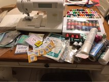 Baby Lock Espree Embroidery machine w/ tons of extras! in Orland Park, Illinois