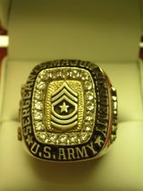 Sergeant Major Academy Ring in Fort Bliss, Texas