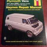 repair manual dodge and Plymouth vans 1971 thru 2003 in Bellaire, Texas