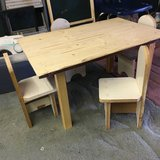 Wood Handmade Childs Table and Chairs in Leesville, Louisiana