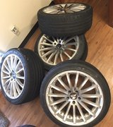 "19"" Avarus AV6 Rims and tires in Great Lakes, Illinois"
