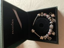 Pandora bracelet with charms in Ramstein, Germany