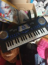 Small toy keyboard in Ramstein, Germany