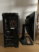 "1TB HDD i5 16GB RAM Gaming Rig + 24"" 1920x1200 monitor in Wiesbaden, GE"