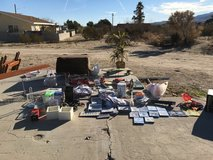 I am having a yard sale tomorrow morning 1/26 Sunday 6637 yucca ave in 29 palms in 29 Palms, California