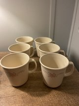 Corelle coffee cups 6  in very nice cond in Pasadena, Texas