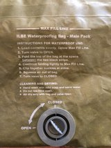 USMC CIF Issued FILBE Main Pack Dry Bag in Camp Pendleton, California