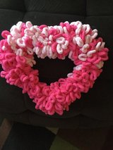 Valentine loopy and or furry Wreaths in Hampton, Virginia
