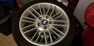 BMW E46 Aluminum Wheels and Summer Tires in Grafenwoehr, GE
