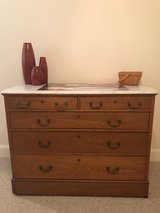 Marble Top Dresser in The Woodlands, Texas
