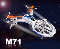 New! Lightning Fast Mini RC Quadcopter M71 Remote Control Drone like Spacecraft in Naperville, Illinois