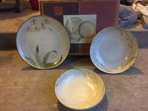 222 5th 3 piece stoneware serving set tranquility in Leesville, Louisiana