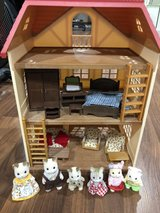 Calico Critters, house and furniture in Naperville, Illinois