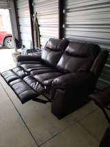 Love Seat Recliner and Recliner Chair Set in Fort Campbell, Kentucky