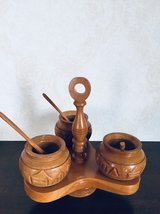 Crafty Wooden cups in Okinawa, Japan