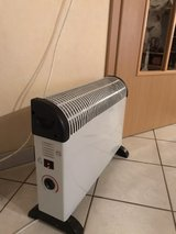 220V Space heater dual power 750W and 1200W in Ramstein, Germany
