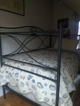 Custom Made Rod Iron Day Bed with Sealy Box Spring and Posturepedic mattress. in Ramstein, Germany