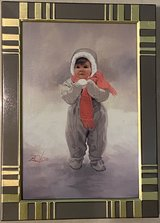 "Donald Zolan Limited Edition Christmas Card ""Winter Angel"" in Okinawa, Japan"