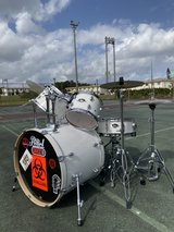 Drumset Pearl Exports. in Okinawa, Japan